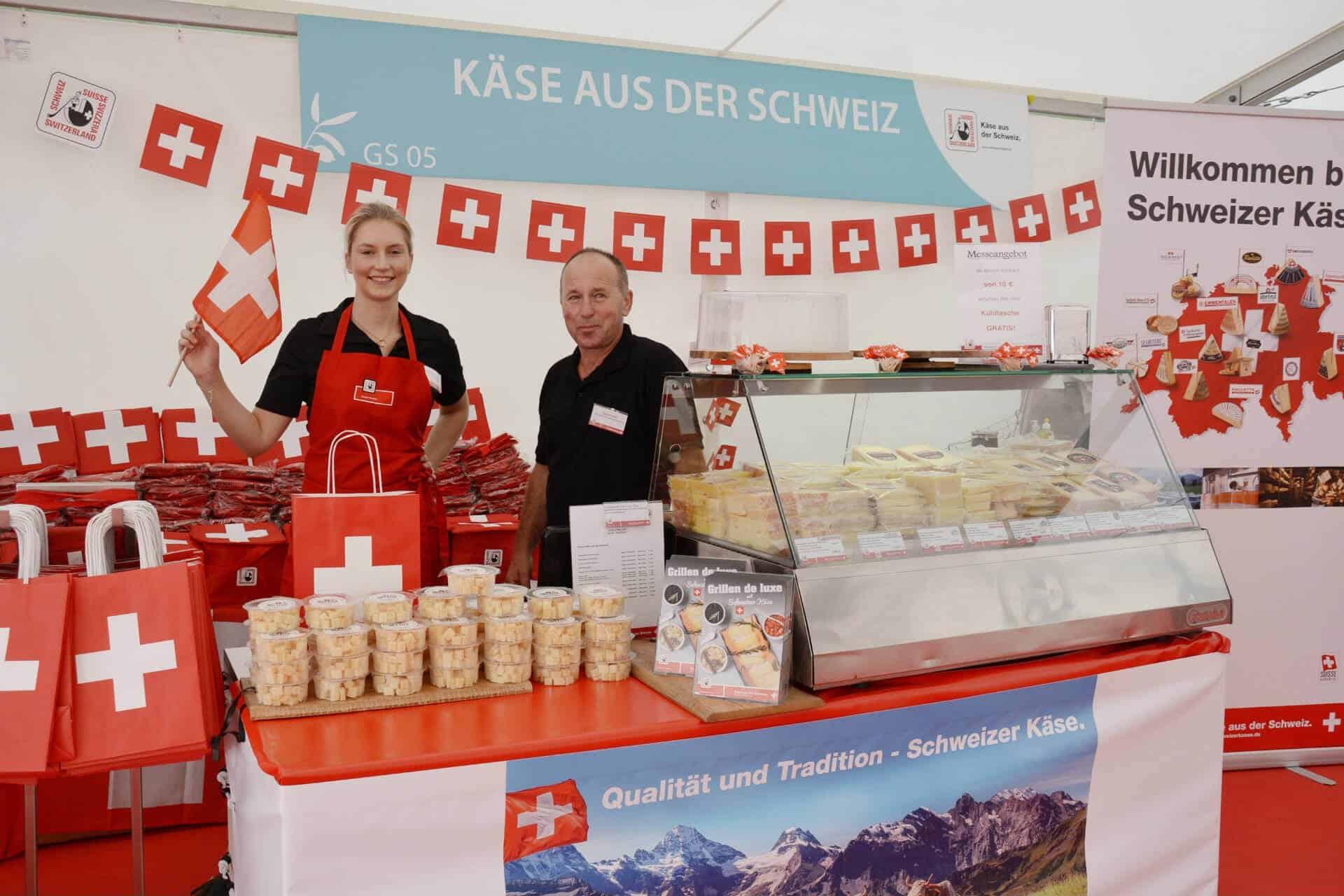 Kaese aus der Schweiz Taste Munich