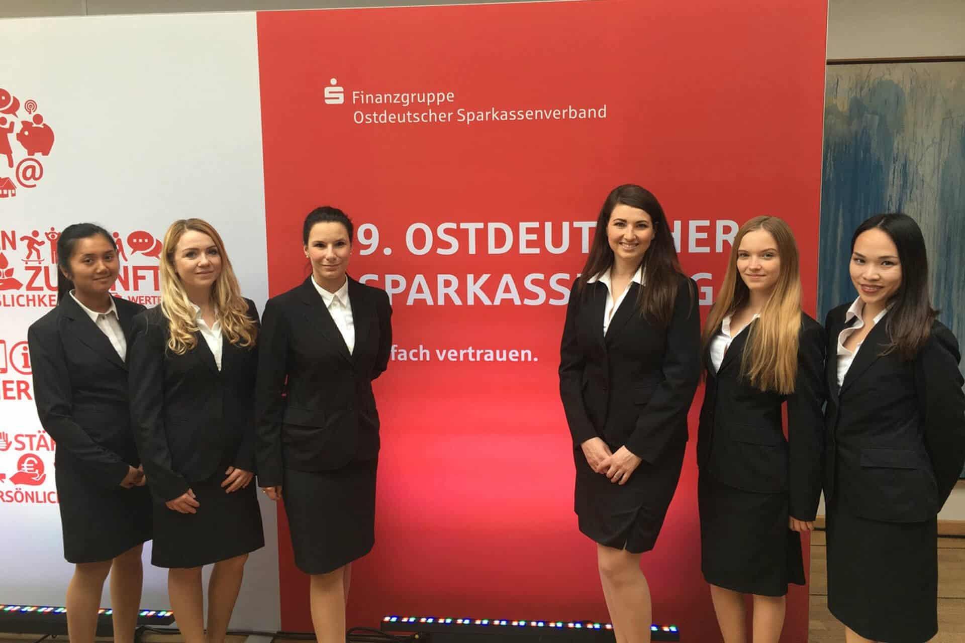 Ostdeutscher Sparkassentag Hostessen