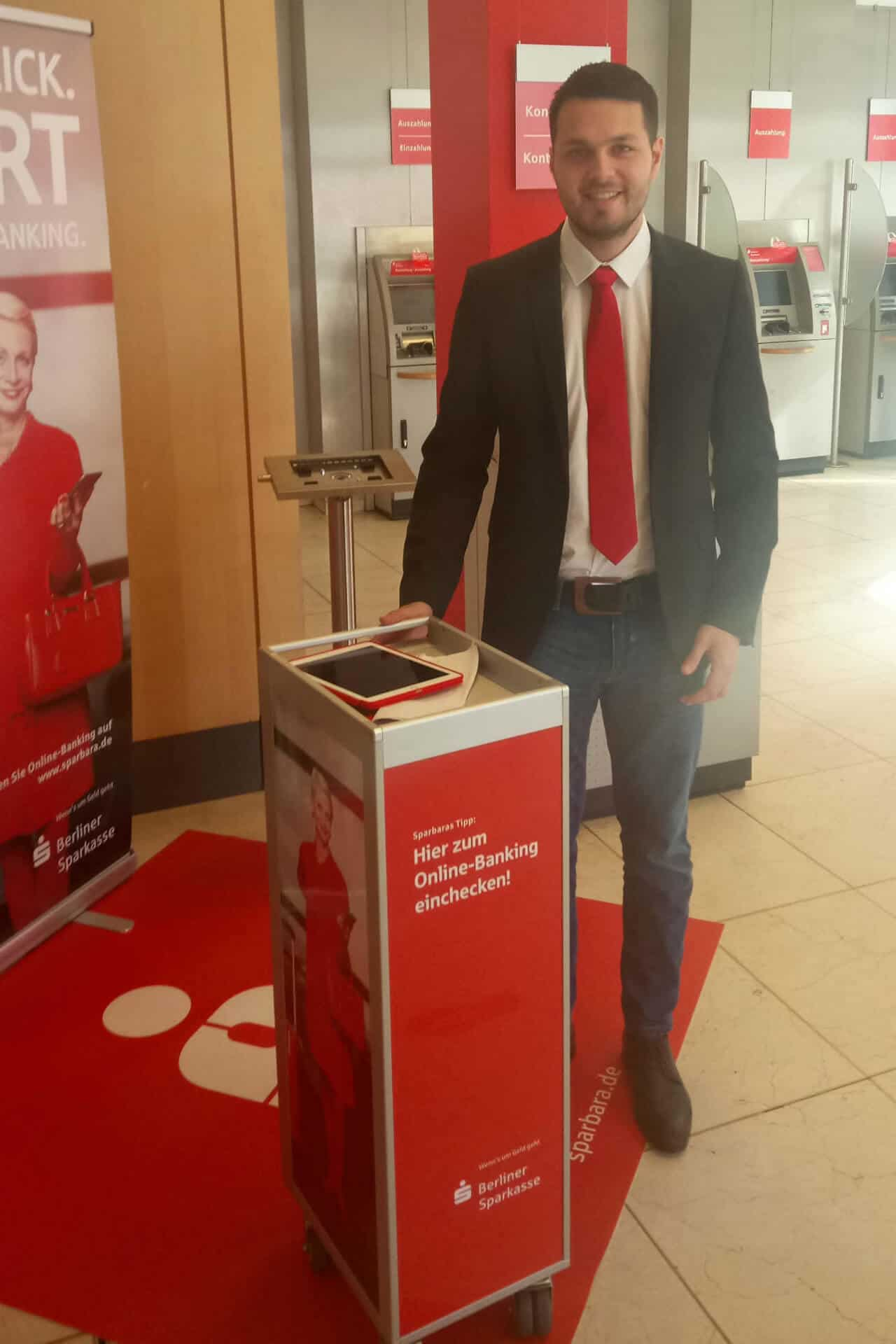 Berliner Sparkasse Digital OnBoarding Promotion   trustpromotion