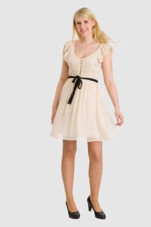 H&M cremefarbenes Kleid