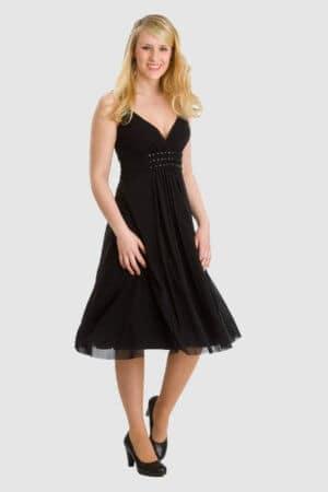 MEXX schwarzes Kleid
