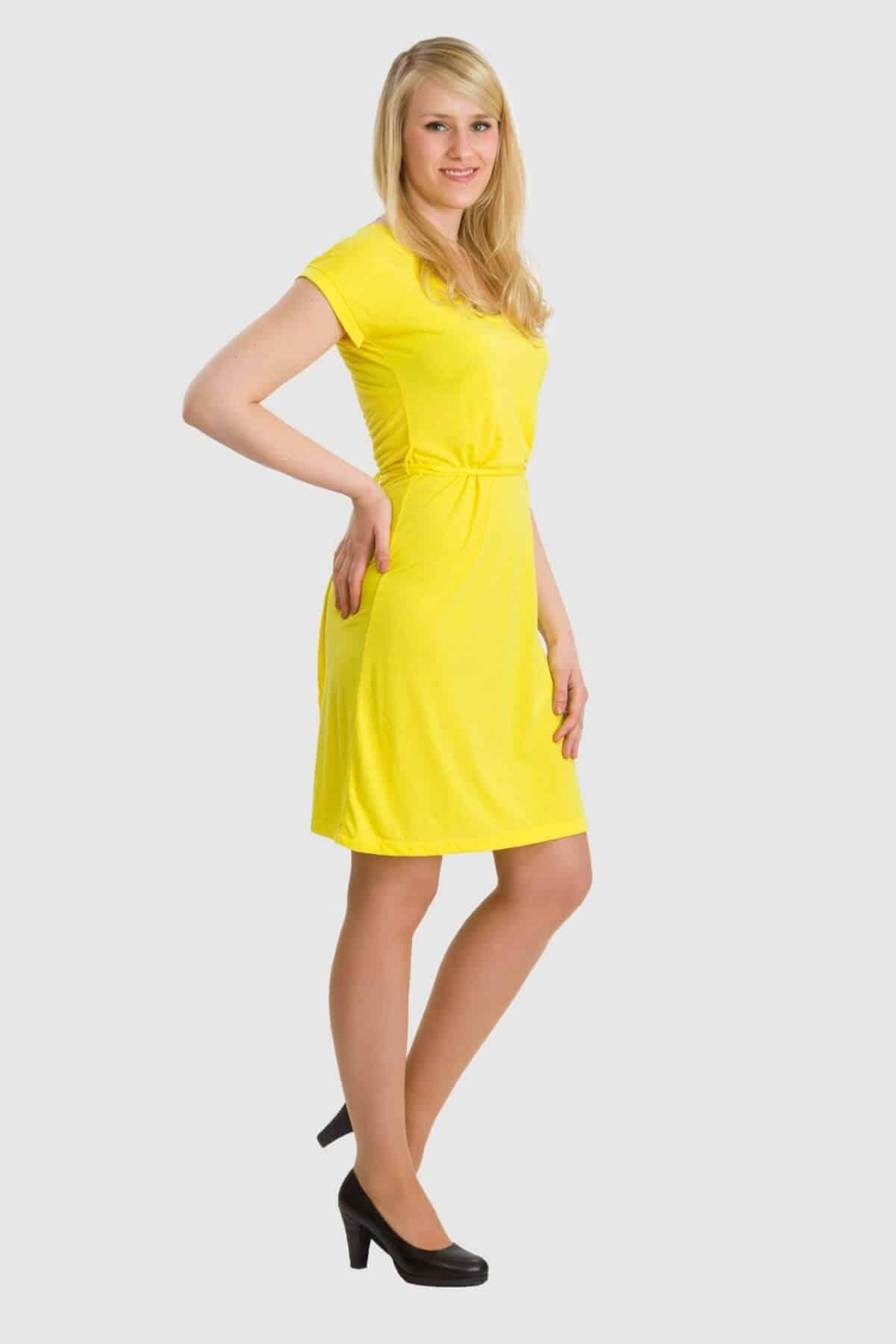 WOB sonnengelbes Kleid