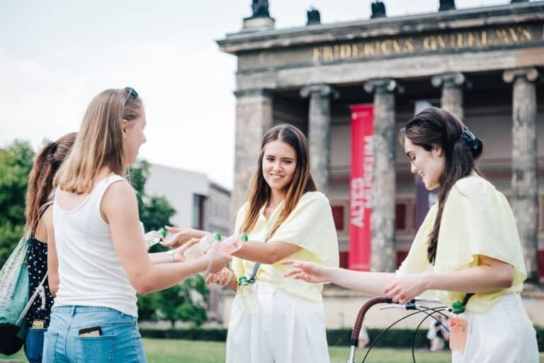 Vöslauer Sampling Tour Berlin TRUST Promotion